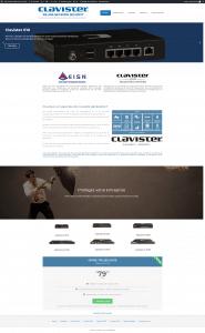 accueil-clavister plateforme de sécurité distribué par EISN